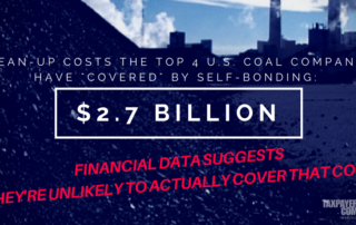 Coal Bonding: Time to Revisit Self-Bonding Requirements