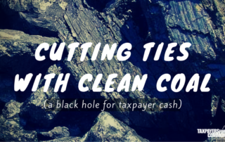 Cutting Ties with Clean Coal