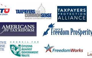 Fiscal Groups Support Flake Amendment #3820 to Cut Wasteful Corps Funding