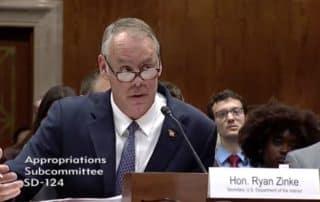 Secretary Zinke on Interior's FY18 Budget - Senate Edition