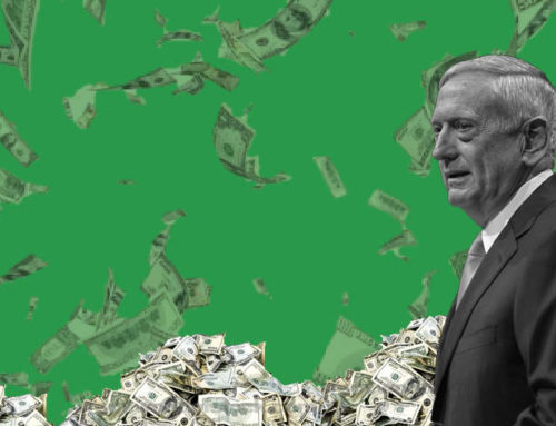 FY18 Pentagon spending billHey Jim Mattis, Can you Spare a Dime?It's a good time to be at the Pentagon, budget wise.
