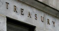 facade on the us dept. of treasury