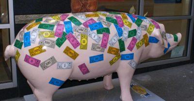 pork money https://www.flickr.com/photos/skrewtape/1311819023/