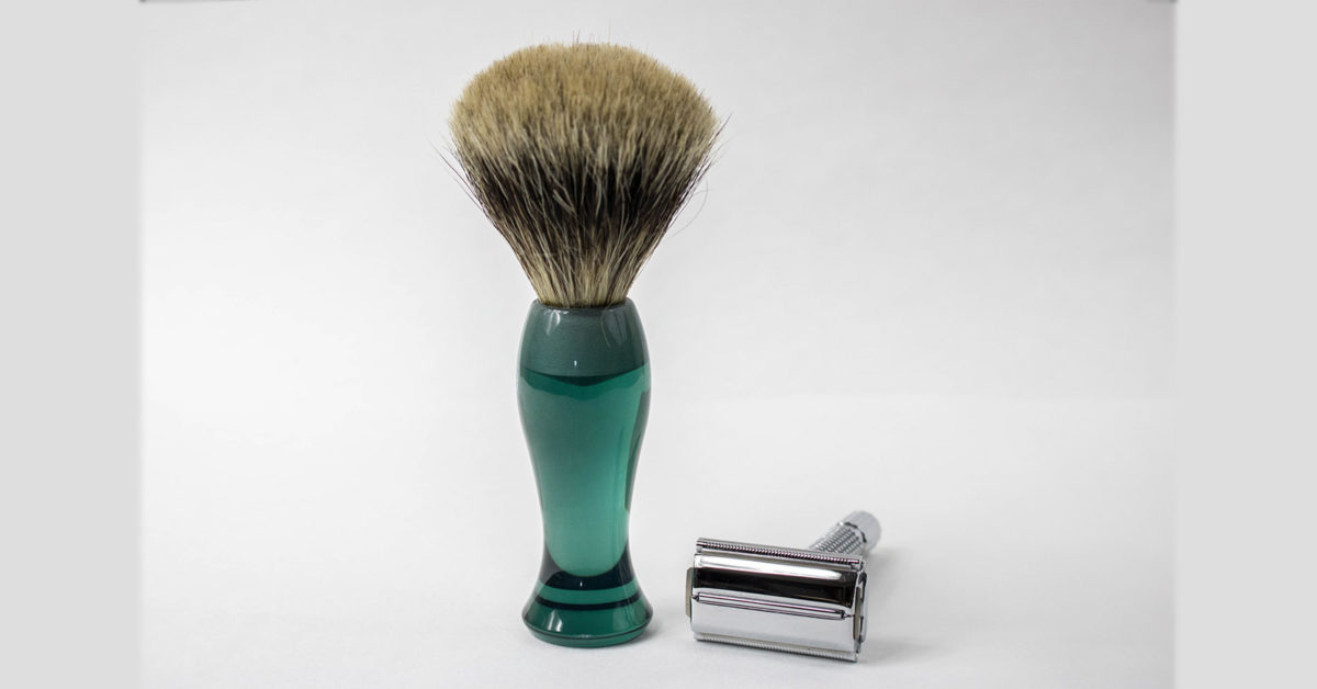 badgerhair shaving brush via toolsofmen.com