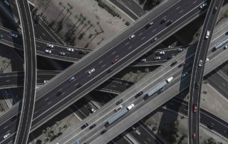 Overlapping flyovers