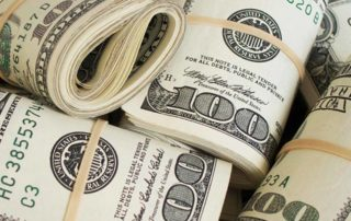 $100 bank rolls