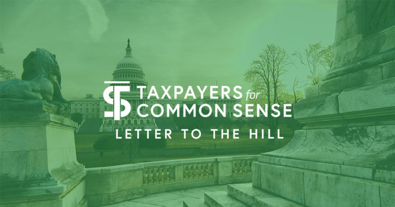 TCS Logo on green backdrop with the words letter to the hill