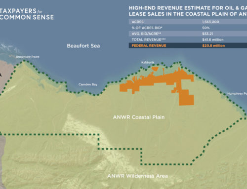 InfographicArctic Oil and Gas LeasingFederal Revenue Projections that Don't Add Up