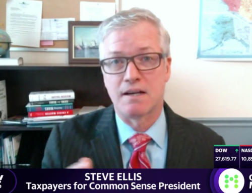 In The News, Covid19Coronavirus relief will only work with 'actual legislation'TCS President, Steve Ellis, speaks to Adam Shapiro of Yahoo Finance