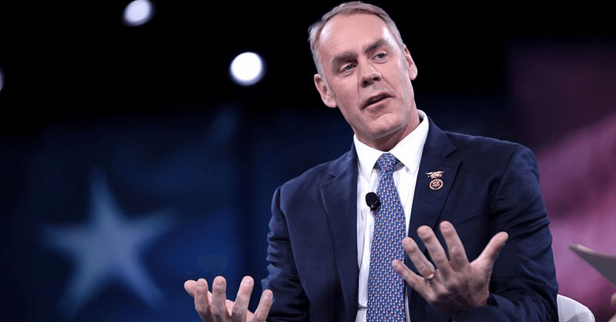 Rep. Ryan Zinke (R-MT) is Mr. Trump's pick for Secretary of the Interior.