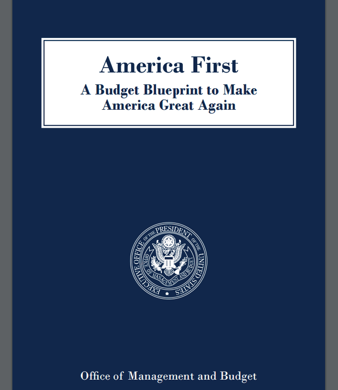 The presidents fy2018 skinny budget analysis taxpayers for america first a budget blueprint to make america great again malvernweather Choice Image
